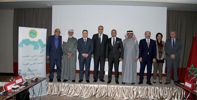 Union arabe de l'électricité : Abderrahim El Hafidi préside la réunion du conseil d'administration et l'assemblée générale