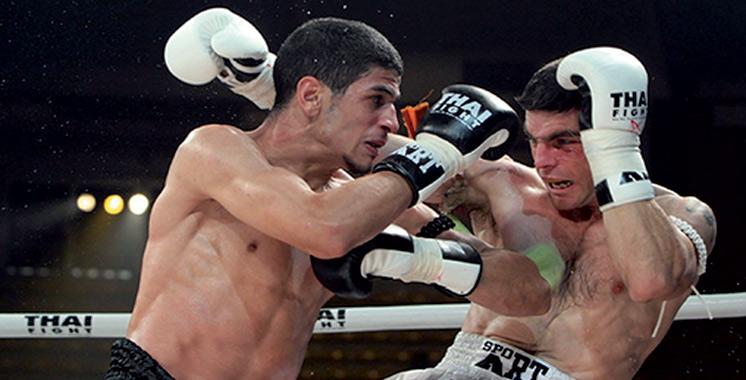 Muay-thaï : Le champion du monde Youssef Boughanem encadre une session d'entraînement à Casablanca