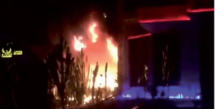 Incendie dans un café à Tanger : Deux morts