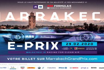 Championnat ABB FIA Formule E : Une grille complète de 24 voitures en piste  pour la première fois à Marrakech