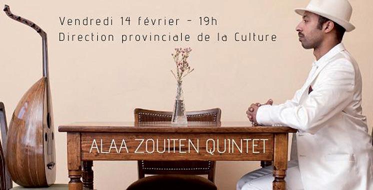 Concert jazz avec Alaa Zouiten Quintet à Kénitra