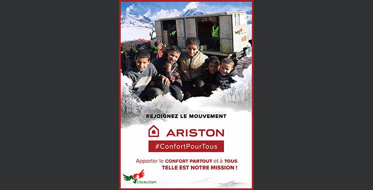 «Confort pour tous» : 500 familles ciblées par Ariston