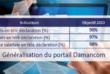 Télé déclarations CNSS : Damancom bientôt généralisé