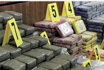 Saisie de plus de 7,5 tonnes de chira  à Guelmim