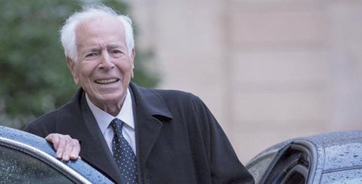 Décès de Jean Daniel : Message de condoléances de SM le Roi à Mmes Michèle et Sarah Daniel