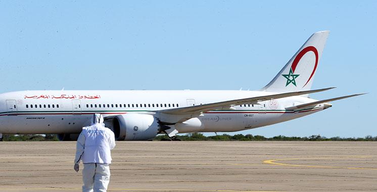 L'avion transportant les rapatriés marocains de Wuhan atterrit à Benslimane