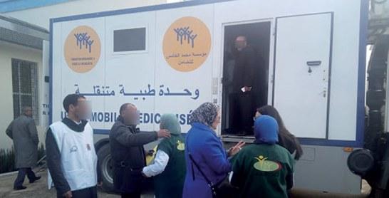 Larache : Près de 2.000 bénéficiaires d'une caravane médicale pluridisciplinaire