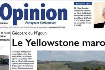 Le journal «L'Opinion» fait peau neuve