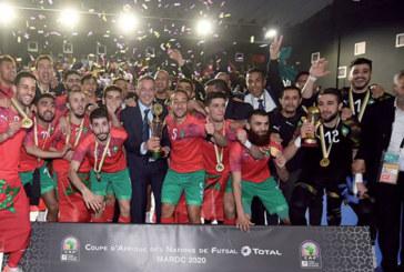 En écrasant l'Egypte en finale de la CAN de futsal : Le Maroc sur le toit de l'Afrique