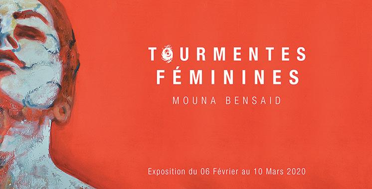 Les œuvres de l'artiste Mouna Bensaid à So Art Gallery de Casablanca