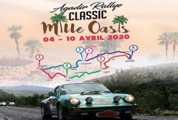La 3è édition du «Rallye Classic Mille Oasis» du 4 au 10 avril à Agadir