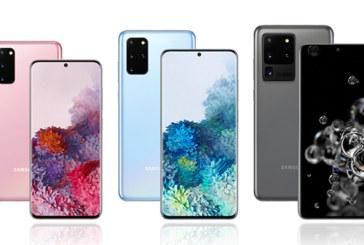 Galaxy S20, S20+ et S20 Ultra : Samsung lance une série haut de gamme dotée de la 5G