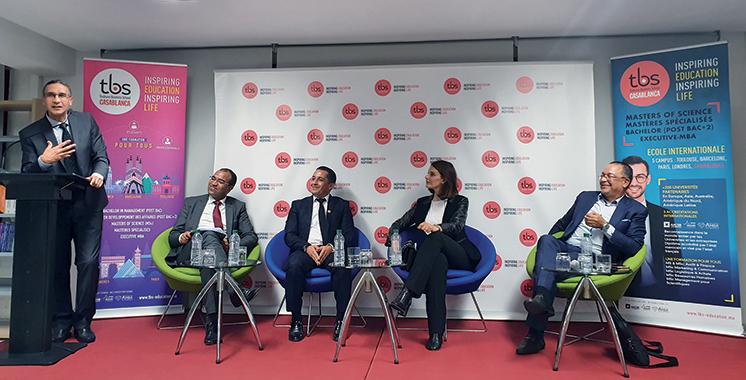 Cycle de conférences : La révolution industrielle 4.0 décortiquée à TBS Casablanca
