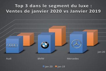 Après une année 2019 marquée par une baisse historique dans le marché de l'automobile : Le luxe reprend des forces