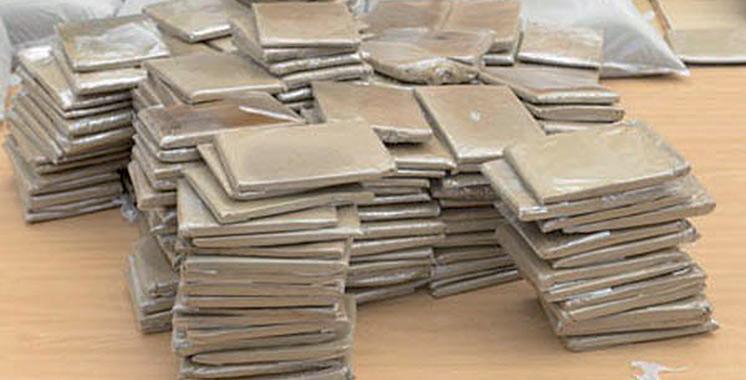 Mohammedia : Saisie de près  de 2,5 tonnes  de chira