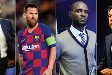Barcelone : Messi tacle Abidal après  une sortie sur le licenciement de Valverde