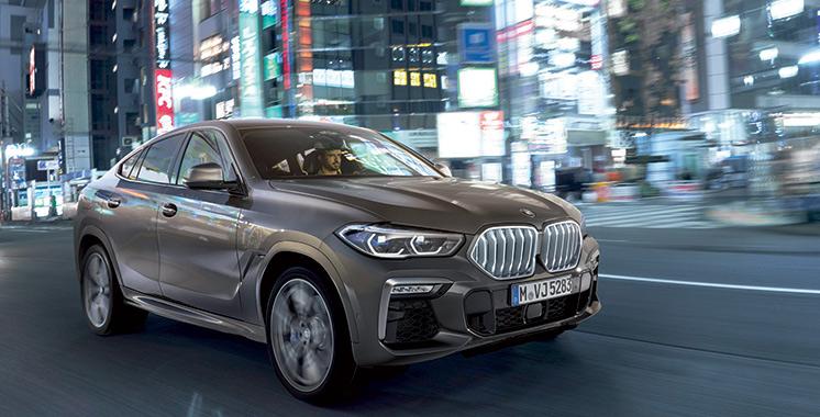 BMW lance son imposant X6 au Maroc
