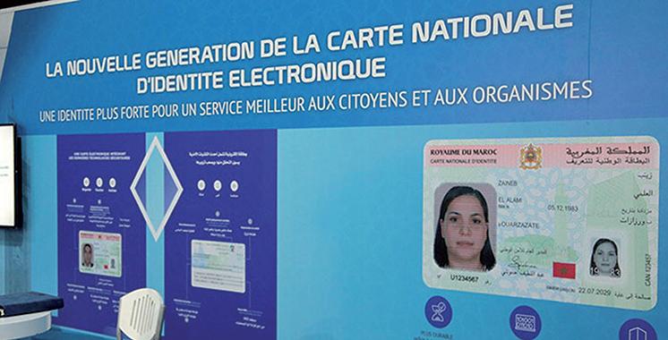 Carte nationale : L'e-mail et téléphone intégrés