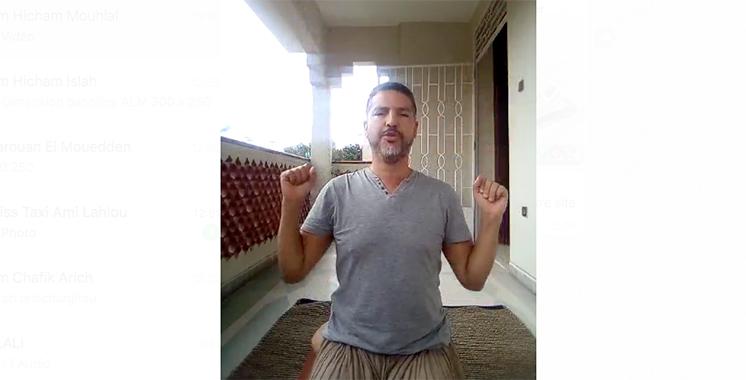 La technique Bhastrika réalisée par le guide Atmen Ajjanda