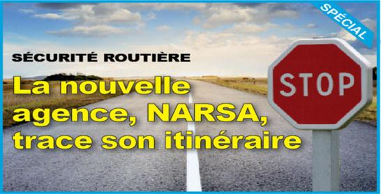 Sécurité routière : La nouvelle agence, NARSA, trace son itinéraire