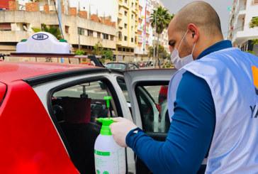 Casablanca : Yassir mène son  opération désinfection