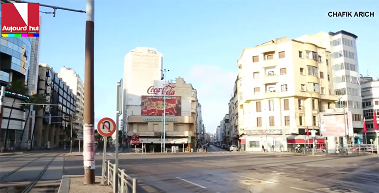 Zéro circulation à Casablanca
