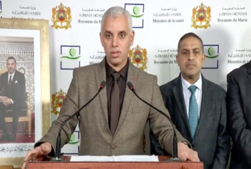 Le ministère dresse un nouveau bilan : Covid-19: 143 cas confirmés dont 5 guéris et 643 exclus