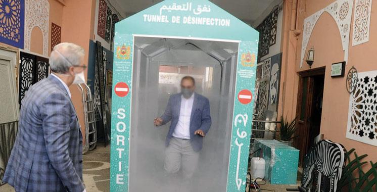 Coronavirus : Les tunnels de désinfection des personnes désormais interdits au Maroc