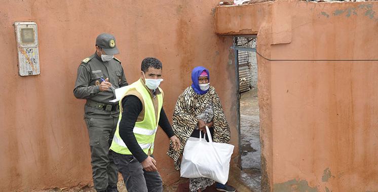 Zagora : 50 tonnes d'aides alimentaires au profit des familles démunies