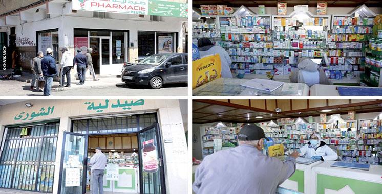 Covid-19 : Les pharmaciens sous pression