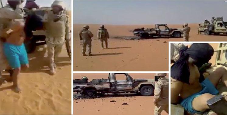 Conduit par le Polisario : Un réseau international de trafic d'armes et drogues démantelé dans la région du Sahel