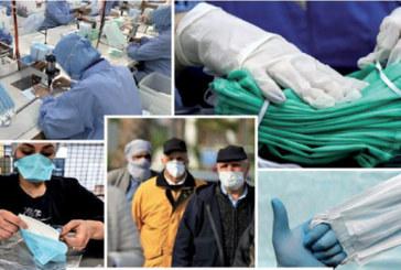 5 millions de masques produits par jour dès mardi prochain