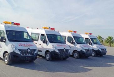 Le Groupe Renault et ses partenaires font un don  de 50 ambulances