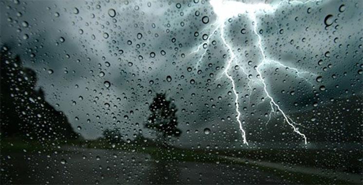 Alerte météo : Averses orageuses localement fortes et modérées dans plusieurs régions