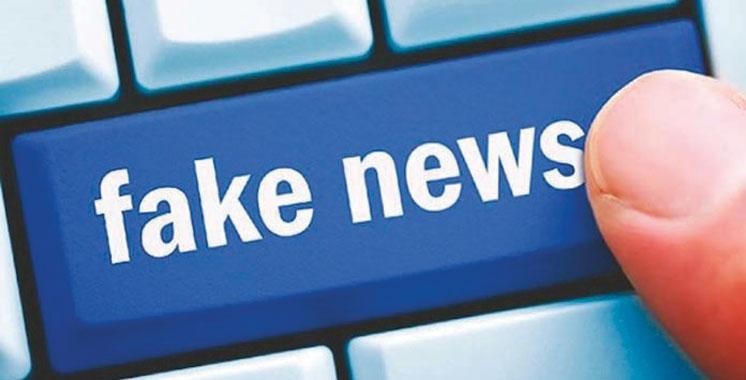 Alerte du ministère de l'intérieur: Attention aux FAKE NEWS