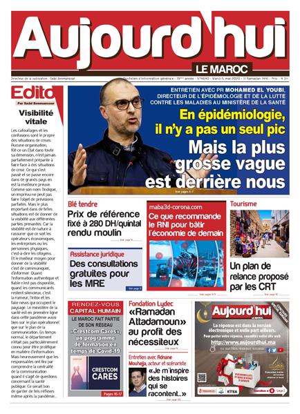 Journal Électronique du Mardi 5 Mai 2020