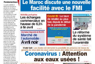 Journal Électronique du Mercredi 6 Mai 2020