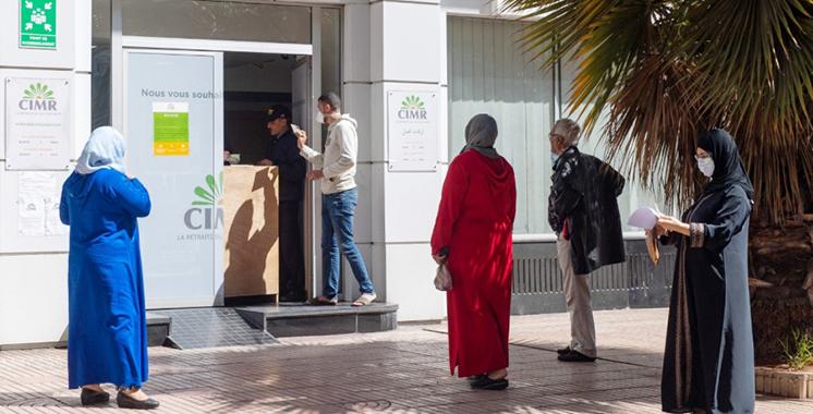 CIMR : Paiement anticipé des pensions  de retraite du mois de mai
