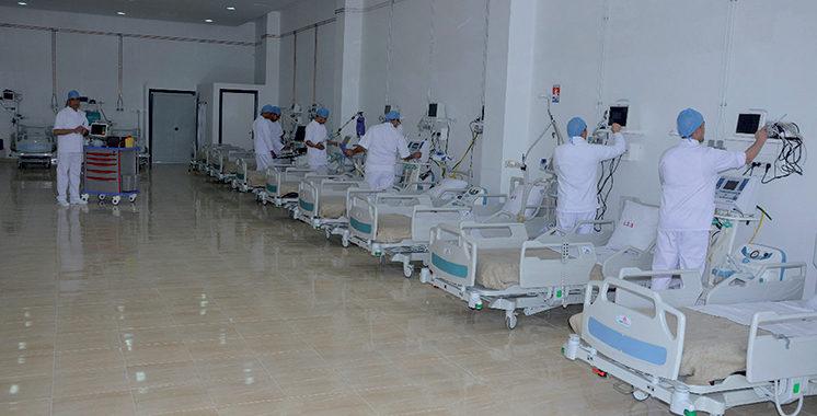 Hôpital de campagne de Casablanca : La ville octroie une enveloppe  supplémentaire de 3 MDH