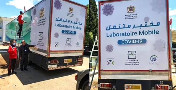 Covid-19 : Le laboratoire mobile d'analyses de biologie moléculaire fait escale à Sefrou