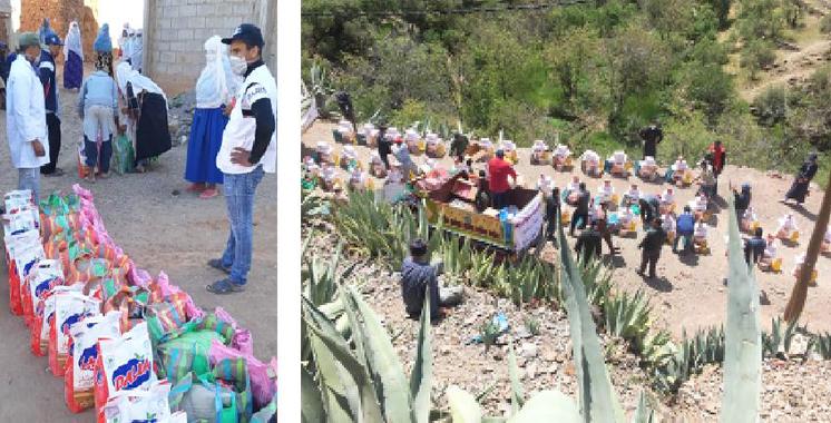Miftah Immobilie distribue des paniers alimentaires aux familles démunies