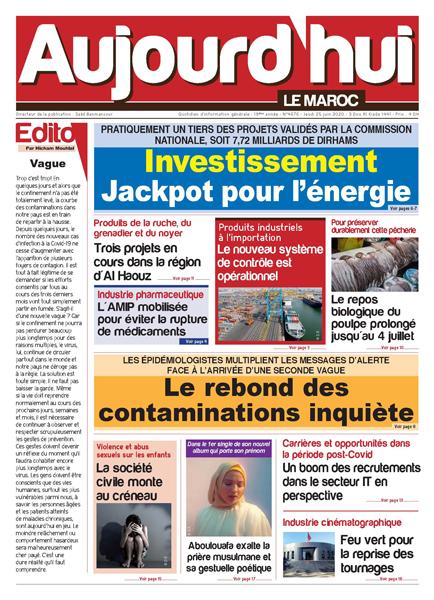 Journal Électronique du Jeudi 25 Juin 2020