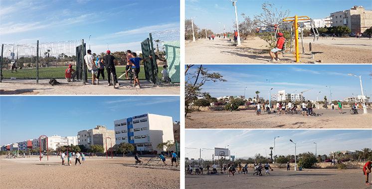 Agadir après le confinement : Un recours massif à la pratique du sport