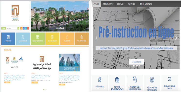 Agadir et Taroudant-Tiznit-Tata : Les autorisations d'urbanisme examinées à distance par les Agences urbaines