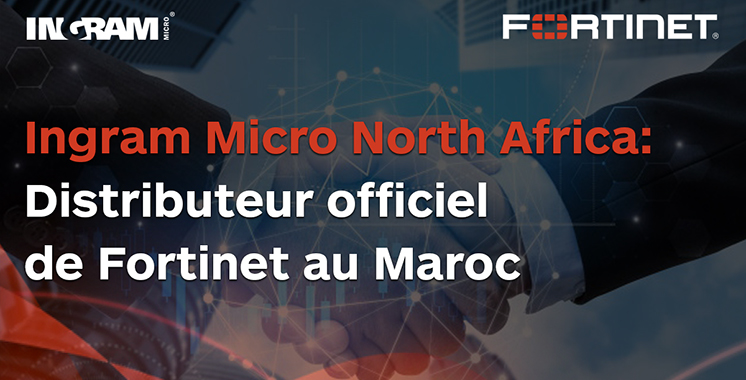 Ingram Micro distribue  au Maroc ses solutions IT  par Fortinet