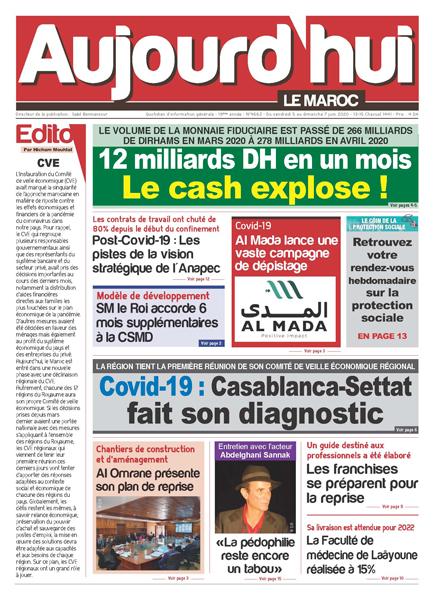 Journal Électronique du Vendredi 5 Juin 2020