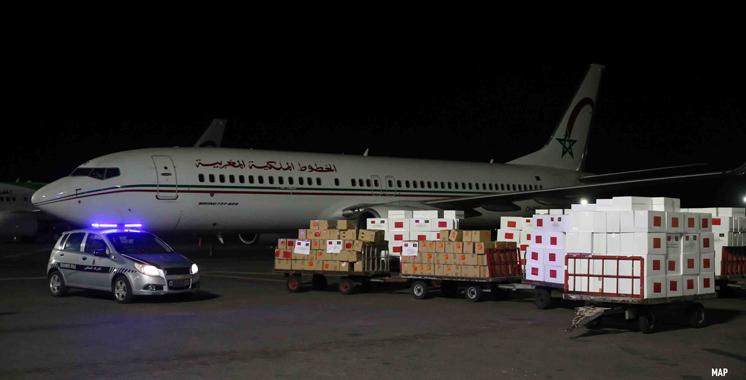 Sur Très Hautes Instructions Royales : Le Maroc envoie une aide médicale à plusieurs pays africains