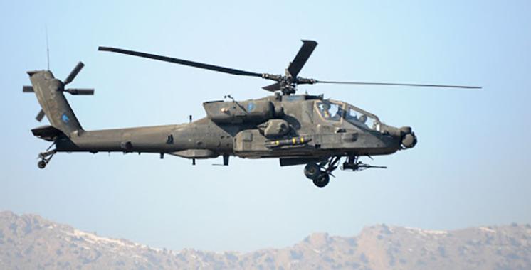 Le Maroc fait une commande de 24 hélicoptères AH-64E Apache