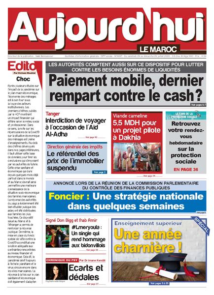 Journal Électronique du Vendredi 24 Juillet 2020