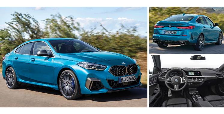 Nouvelle BMW série 2 Gran coupé:  La luxueuse allemande dévoile ses formes